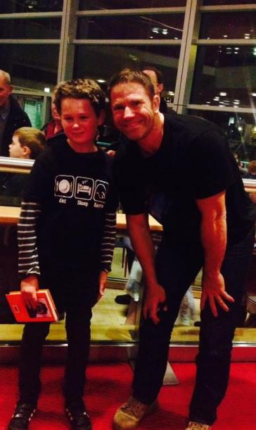 Alex and Steve Backshall