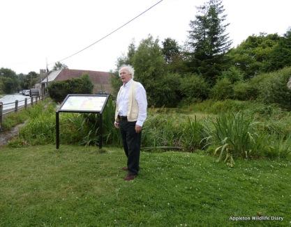 Philip Pullman speech at Cumnor pond
