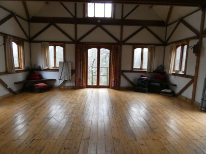 Main room in the Oak House