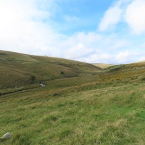 View across Dartmoor to Wistman's wood