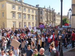 Climate strike Oxford 5