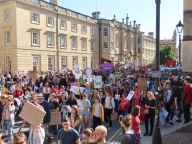 Climate strike Oxford