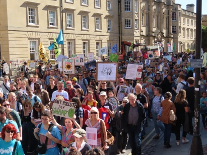 Climate strike Oxford 2
