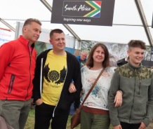 Huge privilege doing a book signing with Chris Packham, Joe Harkness and Angela Mills