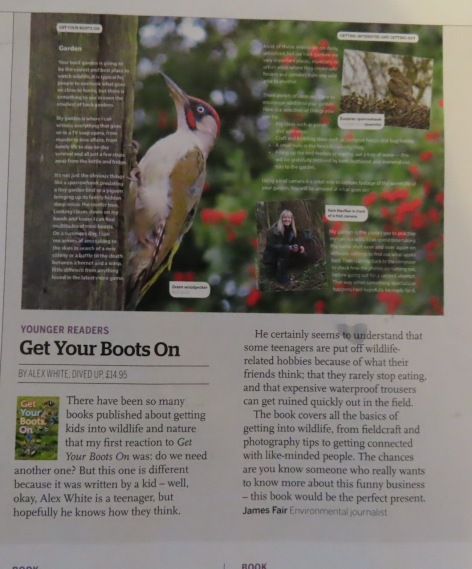 BBC Wildlife mag azine review