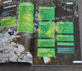 Get Your Boots On - Contents page